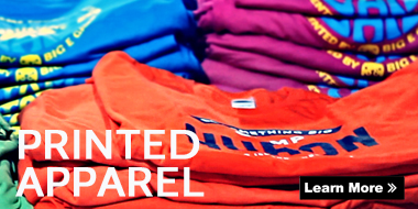 supply for printed apparel