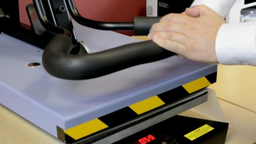 sublimation metal product heat press